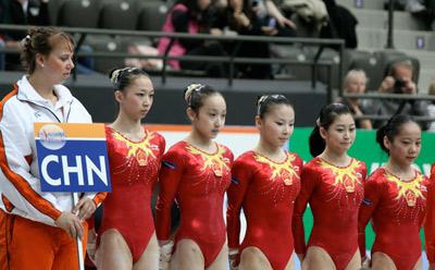 Gymnasts Height